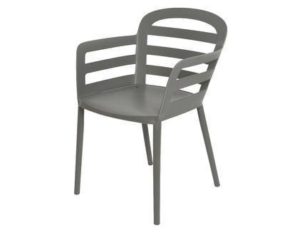 Stohovací židle BOSTON, 56,5x59x81cm, antracit, venkovní, Kaemingk
