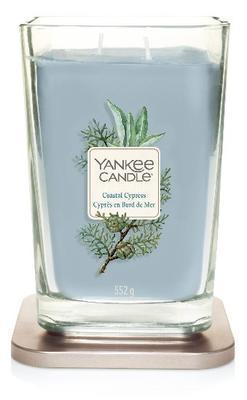 Svíčka ELEVATION 2 KNOTY Coastal Cypress - velká, Yankee Candle