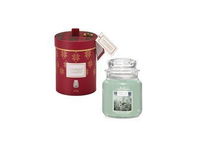 Vánoční dárková svíčka sklo č.2 - White Fir ALPINE CHRISTMAS, Yankee Candle