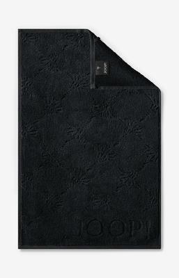 Ručník hostinský 30x50 cm UNI-CORNFLOWER černá, JOOP!