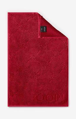 Ručník hostinský 30x50 cm UNI-CORNFLOWER rudá, JOOP!