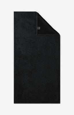 Ručník 50x100 cm UNI-CORNFLOWER černá, JOOP!