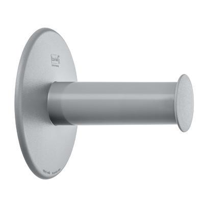 Držák s přísavkou na toaletní papír PLUG N'ROLL - šedá, Koziol