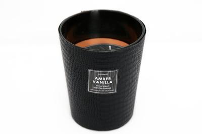 Svíčka vonná CROCODILE - Amber Vanilla 13x16 cm, Sifcon