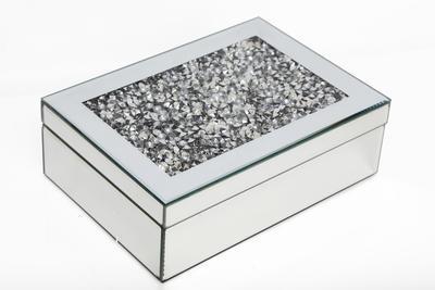 Šperkovnice MIRRORED GEM 17,5x24,5 cm, Sifcon