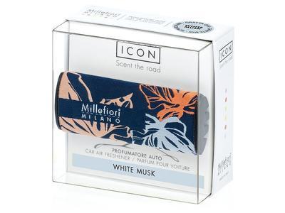 Vůně do auta ICON TEXTILE FLORAL White Musk, Millefiori