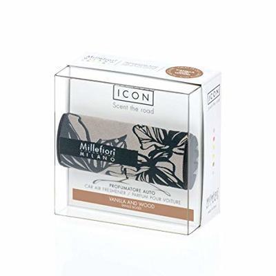 Vůně do auta ICON TEXTILE FLORAL Vanilla & Wood, Millefiori