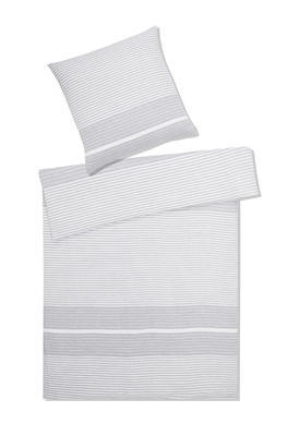 Povlečení na jednolůžko Summer, 70x90/140x200 - šedé, Elegante - 1