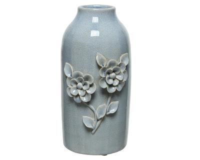 Váza FLOWERS 15x13x30 cm - levandulová, Kaemingk