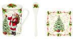 Vánoční set 3ks - Hrnek & lžička & podtácek MAGIC CHRISTMAS 250 ml, Easy Life - 1/4