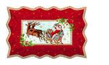 Vánoční podnos servírovací VINTAGE XMAS 35x23 cm, Easy Life - 1/4