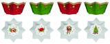 Vánoční set 4ks - Miska VINTAGE XMAS 10 cm, Easy Life - 1/4