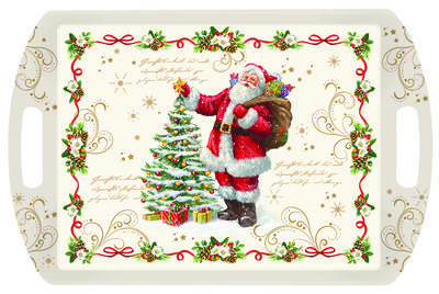 Vánoční podnos s rukojetí MAGIC CHRISTMAS 52x35 cm, Easy Life - 1
