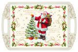 Vánoční podnos s rukojetí MAGIC CHRISTMAS 52x35 cm, Easy Life - 1/3