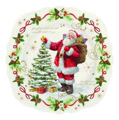 Vánoční talíř salátový MAGIC CHRISTMAS 20 cm, Easy Life - 1