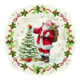 Vánoční talíř salátový MAGIC CHRISTMAS 20 cm, Easy Life - 1/3