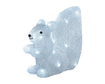 Vánoční dekorace LED - Veverka 14x26x28 cm, Kaemingk