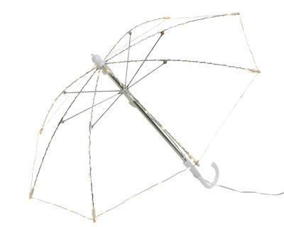 Vánoční dekorace LED Micro - Deštník světelný 40 cm, Kaemingk