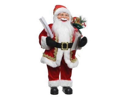 Vánoční dekorace - Santa stojící 24x14x45 cm, Kaemingk