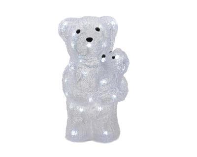Vánoční dekorace LED - Medvídek 16x16x30 cm, Kaemingk