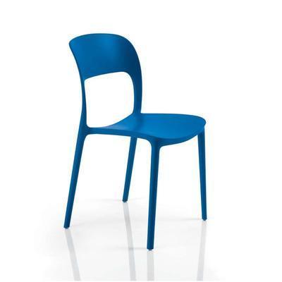 Židle bez područek GIPSY - blue marine, Bontempi - 1