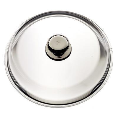 Poklice skleněná s kovovým úchytem 20 cm, WMF