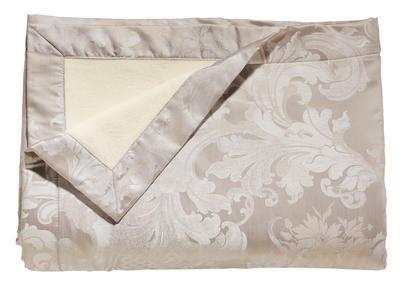 Přehoz přes postel LOUIS XIV. 130x190 - alsilber, Bauer - 1