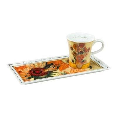 Set espresso - Limited ARTIS ORBIS V. van Gogh - Sunflowers - 100 ml, Goebel