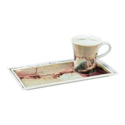 Set espresso - Limited ARTIS ORBIS Michelangelo - The Creation of Adam - 100 ml, Goebel