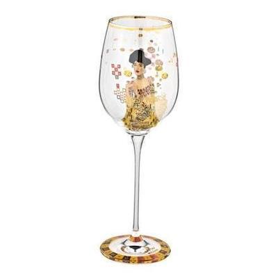 Sklenice na víno ARTIS ORBIS G. Klimt - Adele Bloch-Bauer - 450 ml, Goebel