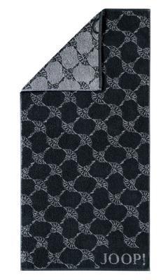 Osuška CORNFLOWER 80x150 cm - černá, JOOP!