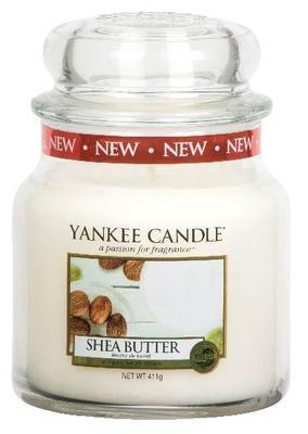 Svíčka Shea Butter - sklo č.2, Yankee Candle