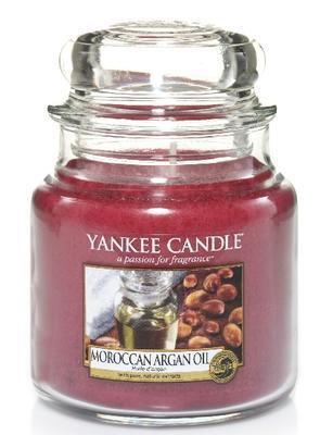 Svíčka Moroccan Argan Oil - sklo č.2, Yankee Candle