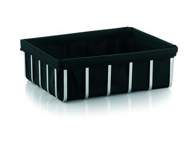 Koš MINORE 31x23 cm - černý, Kela