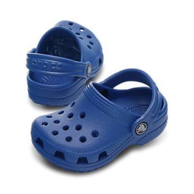 Boty LITTLES C2/3 sea blue, Crocs - 1