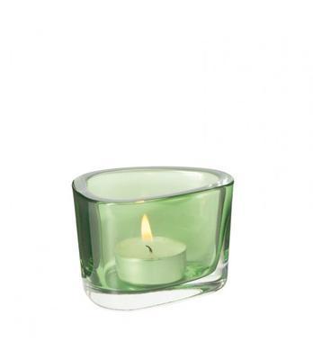 Svícen ORGANIC - verde, Leonardo