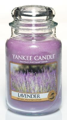 Svíčka Lavender - sklo č.3, Yankee Candle