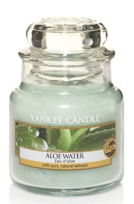 Svíčka Aloe Water - sklo č.1, Yankee Candle