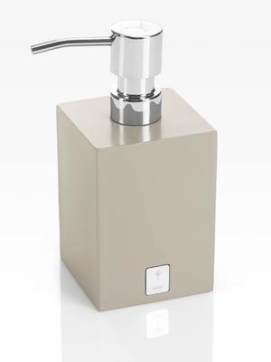 Dávkovač mýdla BATHLINE 7,5x17x7,5 cm - šedý, JOOP!