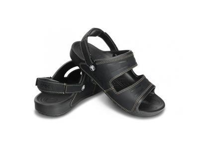 Sandály YUKON TWO-STRAP M8 black/black, Crocs - 1