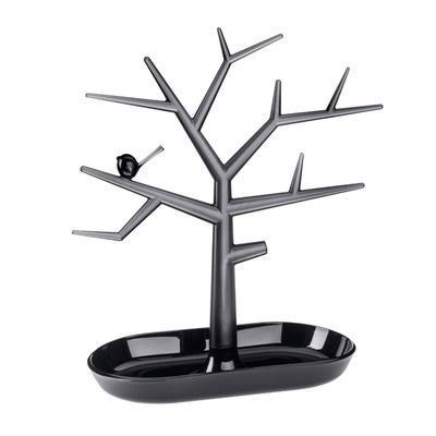 Držák na drobnosti - strom PI:P - černá/transp.antracitová, Koziol - 1