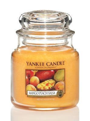 Svíčka Mango Peach Salsa - sklo č.2, Yankee Candle