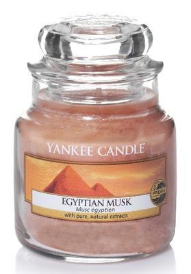 Svíčka Egyptian Musk - sklo č.1, Yankee Candle