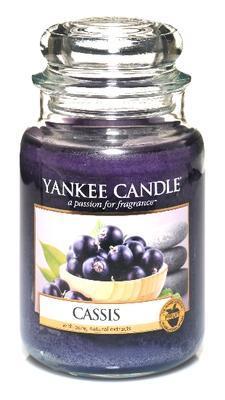 Svíčka Cassis - sklo č.3, Yankee Candle
