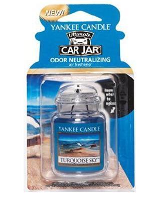 Vůně do auta Turquoise Sky, Yankee Candle