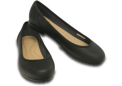 Balerínky MARIN COLORLITE FLAT W6 black/black, Crocs - 1
