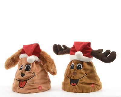Vánoční dekorace - tančící čepice, Kaemingk
