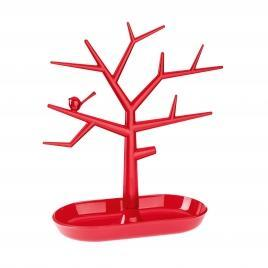 Držák na drobnosti - strom PI:P - malinová/transp., Koziol - 1