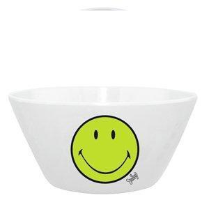Miska na cereálie SMILEY 15 cm - zelená/bílá, Zak!