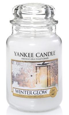 Svíčka Winter Glow - sklo č.3, Yankee Candle